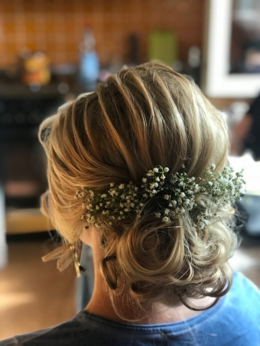 Braut-Make-up, Hochzeit