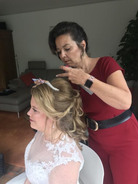 Brautstyling;Hochzeit