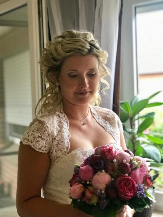 Airbrush-Make-up, Hochzeit